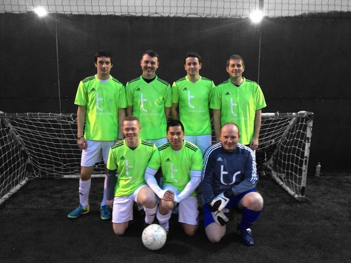 ts design sponsor 5 A-Side Superstars