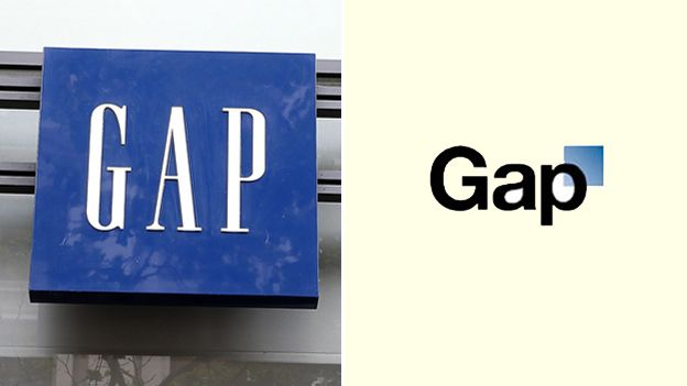gap is an example of a great logo